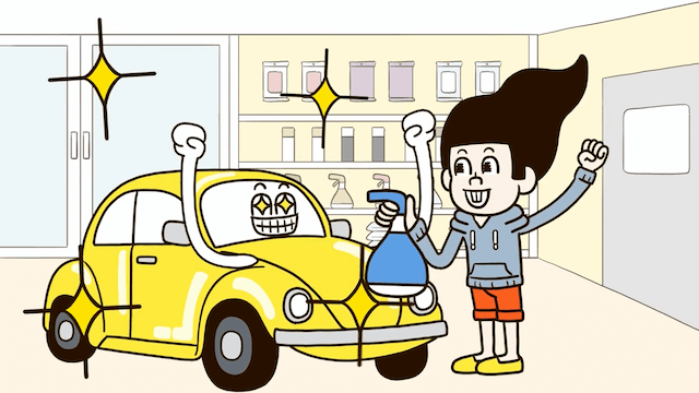サイネージ動画 昭和シェルの九州店舗給油機