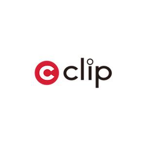 Square clip logo