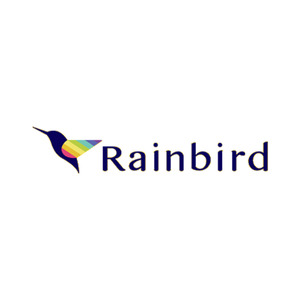 Square rainbird logo