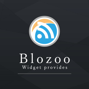 Square blozoo logo