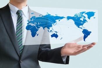 海外展開を加速させる<br>営業ツール